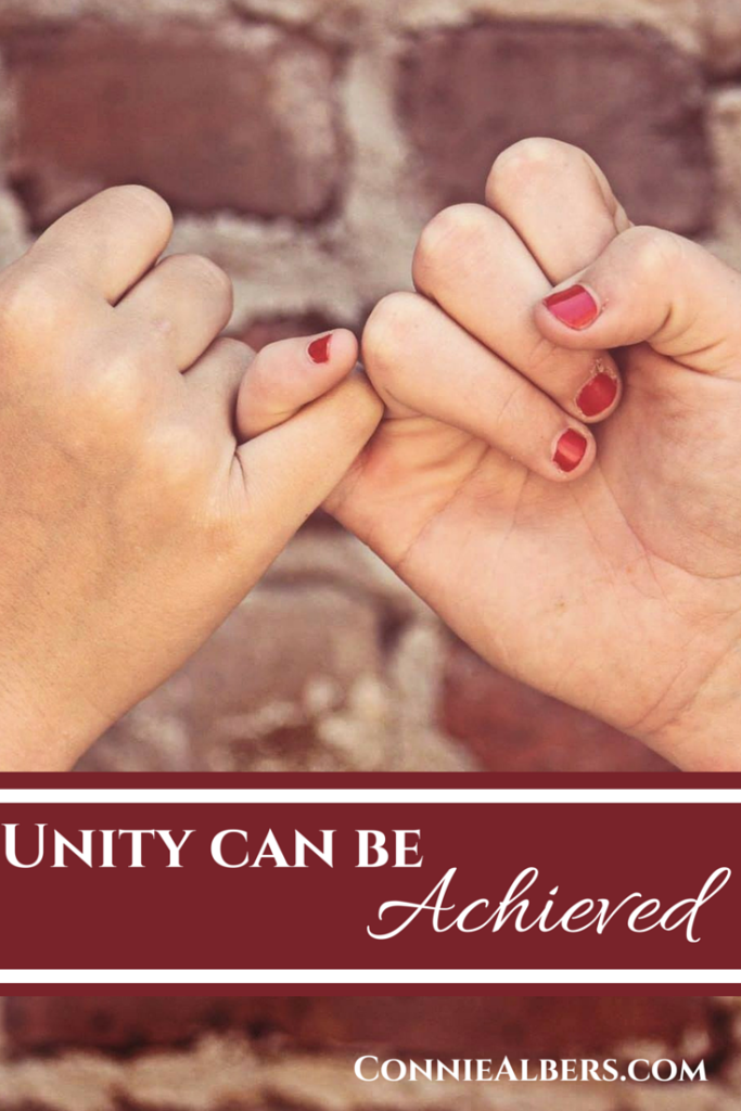 Unity Can Be Achieved