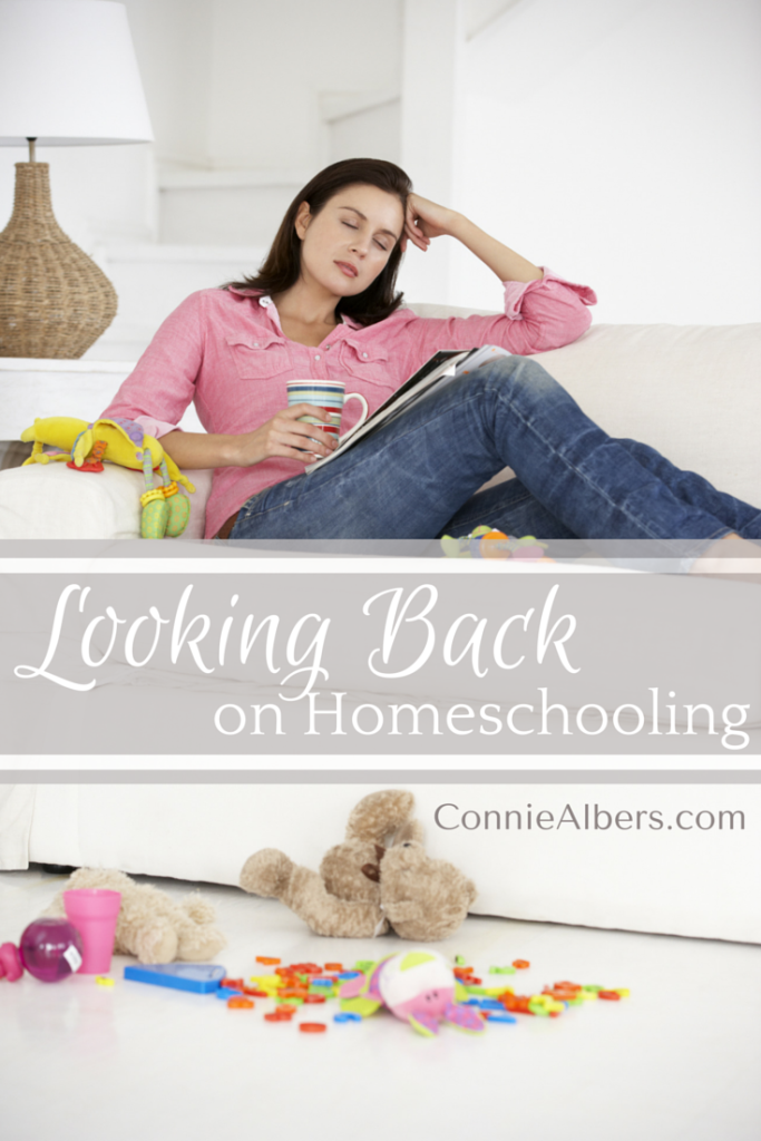 Looking back on homeschool is a time of great reflection. Finish your journey strong and be proud of your job well done. Our children are our greatest assets. Christian motherhood encouragement from ConnieAlbers.com