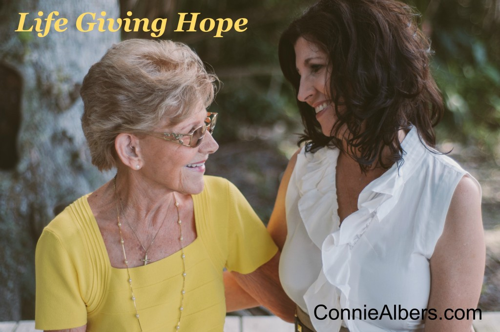Life Giving Hope Connie and Fran face to face