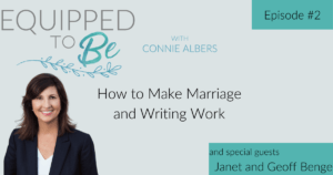 How to Make Marriage and Writing Work with Janet and Geoff Benge - ETB #2