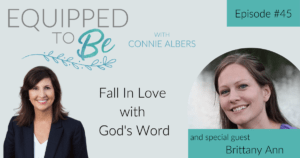 Fall In Love with God's Word with Brittany Ann - ETB #45