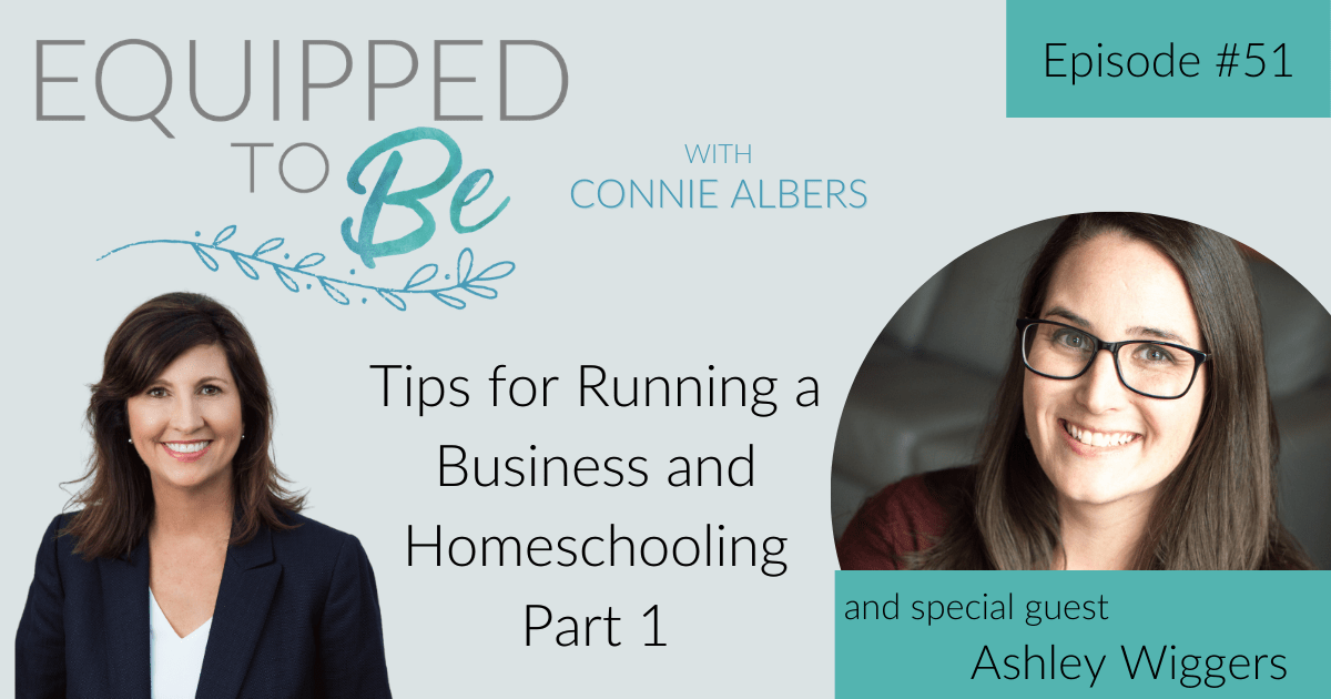 Tips for Running a Business and Homeschooling with Ashley Wiggers Part 1 – ETB #51