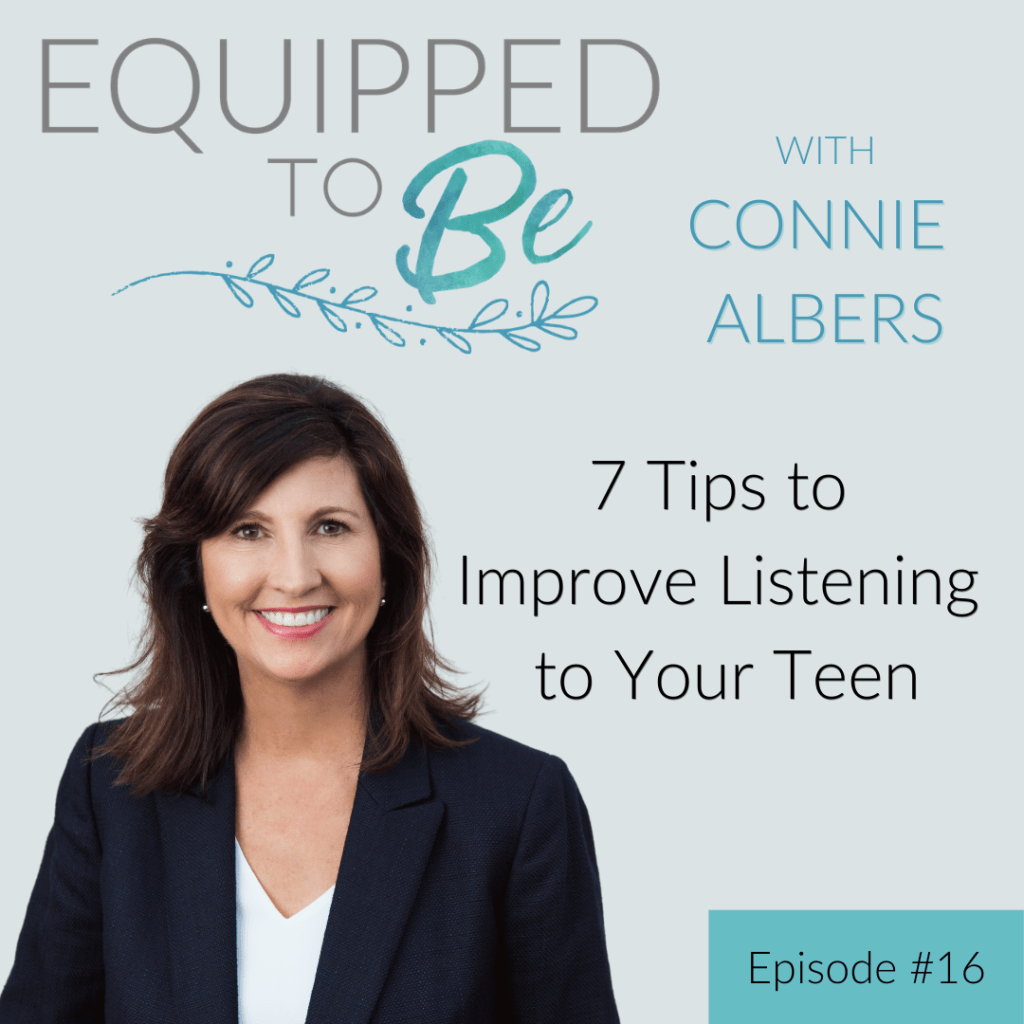 7 Tips to Improve Listening to Your Teen - ETB #16